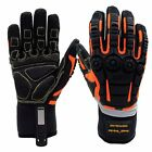 Cestus Full impact-Protection Gel Pad Cut/Oil Resistant Safety Multi Work Gloves