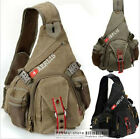 6212 AERLIS man`s canvas cotton Chest bag durable Shoulder Sling Messenger Bag