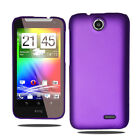 For HTC Desire 310 Hybrid Plastic Hard Case Slim Back Cover & Screen Protector