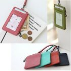 Woman Neck Strap Wallet Woman Card Wallet Woman Coin Zipper Cow Wallet FG0786