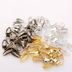 100pcs Oval Buckle Pendant Clasp Connector DIY Jewelry Hook New 7mm