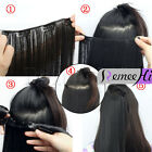 "16""-28"" 100% Human Hair Extensions - 5 clips in One piece hair easy clips 100g"