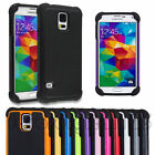 Heavy Duty Shockproof Dirt Proof Hard Case Cover for Samsung Galaxy S5 S V i9600
