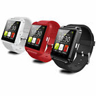 Touchscreen Bluetooth Smart Watch Wristwatch For Smart phones Rechargeable