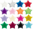 "2x 18"" Foil Star Balloon Helium Metallic Wedding Birthday Valentine Party Supply"