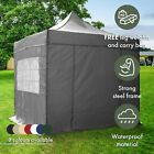 AirWave 3x3m Pop-Up Gazebo Waterproof Garden Gazebo 2 Windbars 4 Leg Weight Bags