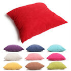 """18X18""""Super Comfortable Cushion Covers Heavy Thick Solid Corduroy  Pillow Case"""