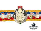 SILK BOXING CHAMPIONSHIP TITLE BELT - OTHER SPORTS & COLOURS AVAILABLE