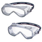 OTOS Ventilation Holes Lab Clear safety Goggles Eye Protection #S-505