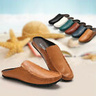 New Men's Calfskin Leather Shoes Soft Slippers Loafers Casual 6 Colors Size 5~11