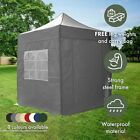 AirWave 2x2mtr FULLY WATERPROOF Pop Up Gazebo With 4 Side Panels And Bag