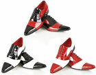 Mens Italian Patent Wedding Shoes Office Formal Casual Boys Party Shoes Size
