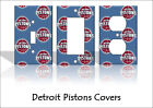 Detroit Pistons Light Switch Covers Basketball NBA Home Decor Outlet on eBay