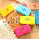 Lovely Animal Shape Paperclips Metal Bookmark Assorted Stationery Style12PCS/Box