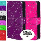 Bling Glitter Diamante leather case cover for iPhone 4, 4s, 5, 5s, 5 SE