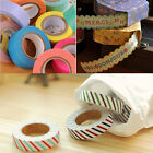 New 3 Style Paper Sticky Adhesive Sticker Decorative Washi Tape