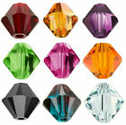 4pcs Swarovski Crystal Beads 5328 Xilion Bicone 8mm - Choose the colour