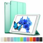 Ultra Thin Magnetic Leather Smart Cover & Back Case for Apple iPad Sleep Wake