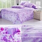 Single/Queen/King Cotton Bedding Bed Sheet Pattern Print Flat Sheet Bedspread