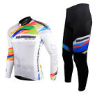 2014 Spakct Bike Men's Cycling Suits Long Sleeve Jersey & Tights Pants-Provence
