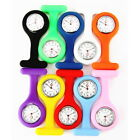 New 10 Colors Nurse Watch Wear On Clothes Silicone Pocket Portable Tunic Fob Kid