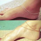 Simple Alloy Gold/Silver Ankle Foot Feet Chain Anklet Toe Ring Girl Jewelry New