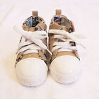 Infants toddlers shoes-unisex vintage wash soft sole casual trainer (1-3years)