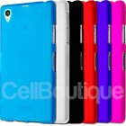 Soft TPU Slim Case Skin Cover For Sony Xperia Z1  Compact Z2 Screen Protector