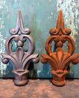 Cast Iron Metal Fancy French Finial Home Garden Yard Lawn Fencing Hardware Decor