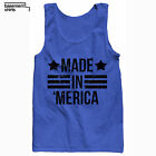 Made In 'Merica Funny USA United States American Merica Tank Top Sleevesless