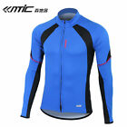 New Santic Cycling Long Jersey Long Sleeve Race Fit Rhythm Blue