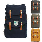"BRAND NEW CAMPUS BOOKBAGS CASUAL CANVAS BACKPACKS BAGS (UP TO 15"" WIDE LAPTOP)"