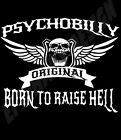 Psychobilly T-Shirt Born To Raise Hell Original Design Gothabilly Rock & Roll