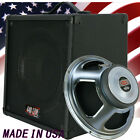 1x12 Guitar Speaker Extension Cabinet W/8 Ohms CELESTION Hot 100 B Blk Tolex