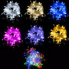 3m/4m/8m LED Starry Lights String Fairy 3-AA Battery Powered Various Color DG