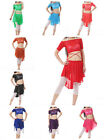 Newest Belly Dancing Costume 2pics Transparent Top Skirt 24COLORS TO CHOOSE