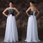 Sexy Splice Cocktail Dress Party Formal Evening Ball Prom Dresses Wedding Gowns