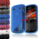 New S Line TPU Gel Case Cover for Blackberry Bold 9900 9930