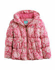 *BNWT* Joules Jnr Padsfield Girls Padded Coat - Pink Henrietta Floral - NEW AW14