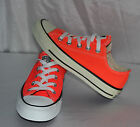 CONVERSE CT OX FIERY CORAL SNEACKER SHOES IN DIFFERENT SIZES