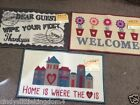 New Novelty welcome door mat machine washable rug Approx 40 x 70cm