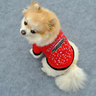 Red Umbrella Pet Puppy Small Dog Cat Clothes Vest T Shirt Apparel Clothes B125