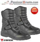 Scarpe Dainese Lince goretex Nero black moto shoes boots stivaletto