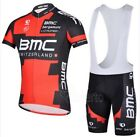 BNWT NEW BMC Cycling Jersey and Bib Shorts Red and Black Pro Team Cycle Race Fit