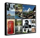 Your Photo Collage Canvas Print - Personalised on Box/Wrapped d300