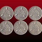 UK 3 PENCE THREEPENCE 3D SILVER COIN GEORGE V 1931 1932 1933 1935 1936