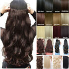 Long Straight/Curly/Wavy Hair Extension Clip in Hair Extensions 5 Clips Sexy Tfs