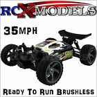 Fast Electric RC Brushless Buggy Off Road 1/18 Radio Remote Control Car 4x4 4WD