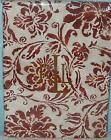 RALPH LAUREN TABLECLOTH BLUFF POINT RUST FLORAL 70 Rd or 84 or 104 or 120 Autumn