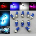 10x T10 5050 5SMD W5W LED Wedge Side License Plate Park Tail Turn Bulb Lamp BLS